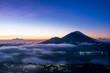 Dawn on the island of Bali