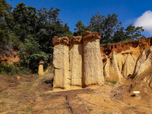 Grand Canyon Of Thailand Was Known As Phae Mueang Phi ,Phrae In Thailand