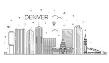 Colorado, Denver. City Skyline...