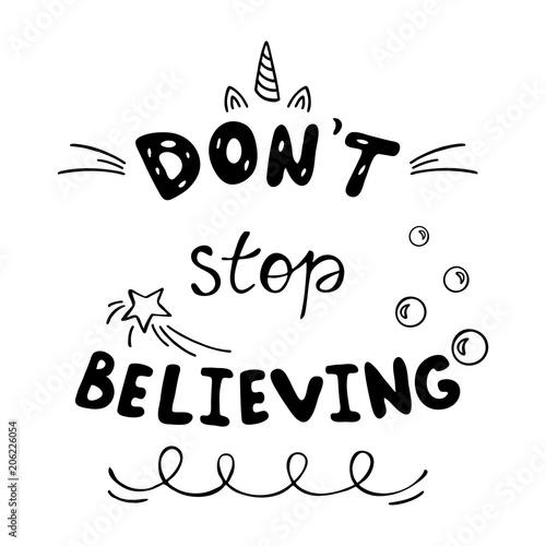 don-t-stop-believing-inspirujacy-napis-nie-przestawaj-wierzyc