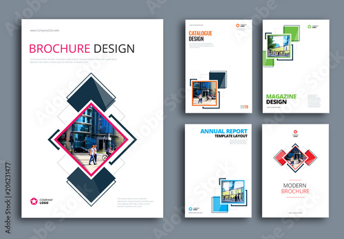 geometric accent business report cover layouts buy this stock