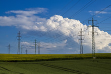 Electric Transmission Tower In...