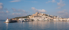 Ibiza Old Town And Castle Seen...