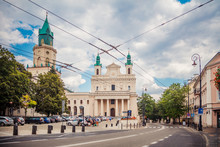 Archcathedral In Lublin, Poland