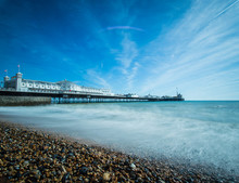 Brighton Pier Viewed From The ...
