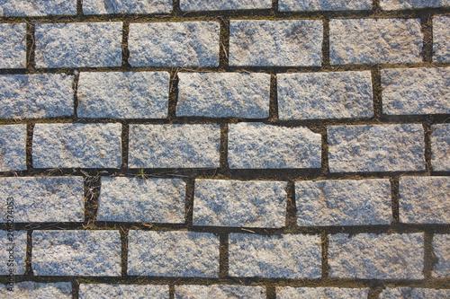 Fotografía granite paving stone texture. Abstract background