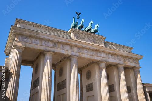 Photo  Brandenburg Gate (Brandenburger Tor) in Berlin