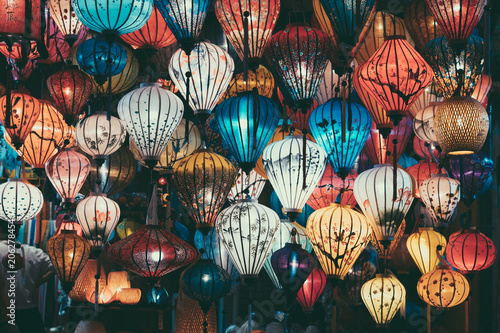 Foto  Beautiful lantern in Hoi An old town