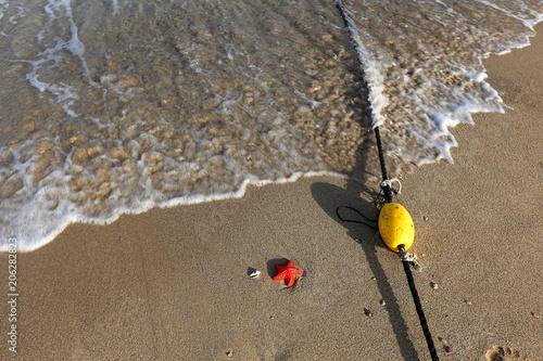 Poster Kust песчаный берег Средиземного моря