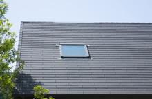 住宅・天窓・イメージ・ストレート葺き屋根