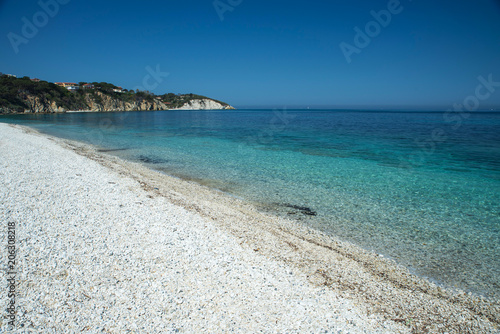 "Fotografía  Spiaggia ""Le Ghiaie"" a Portoferraio - Isola d'Elba - Toscana - Italia"