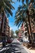 Straße in Valencia in el Cabanyal