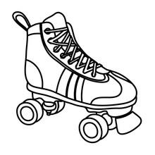 Line Roller Skate Style Fun Sport