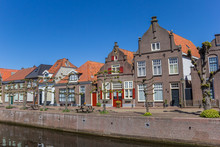 Historic Houses At A Canal In ...
