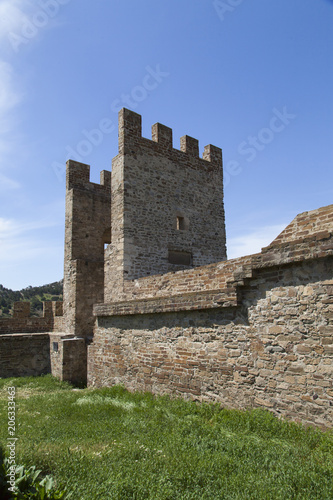 Foto  Ancient medieval fortress