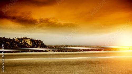 Fotografie, Obraz  summer road background