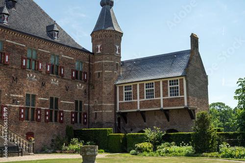 Plakat Dom Berg Zamek w Holandii
