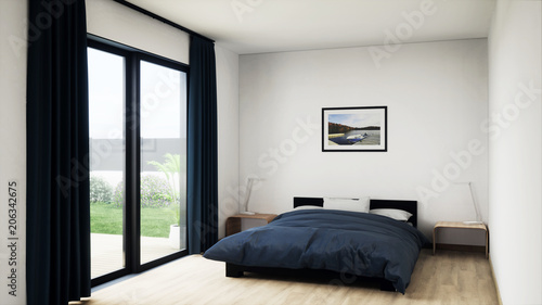 Perspective 3d Chambre 01