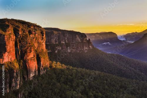 Fotomural  BM GOvett Leap Red Rocks 40mm