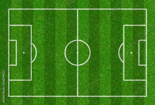 Obraz Fußballfeld - fototapety do salonu