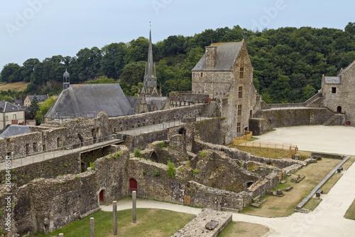 Tour Raoul, Castle of Fougeres Canvas Print