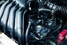 Picture Of Modern Automobile Engine Devices