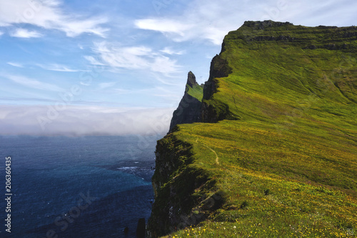 Tablou Canvas Hornstrandir Nature Reserve, West Iceland