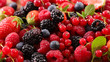 assorted berry fruit