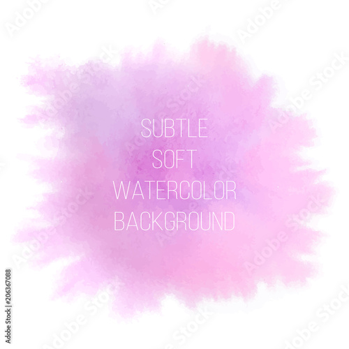 Fotografía  Colorful abstract vector background. Soft pink, violet and blue