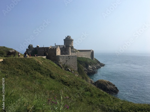 Fotobehang Vestingwerk Fort la Latte, Cap Fréhel, Bretagne, France