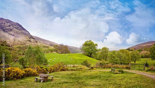 Deurstickers Landschappen Beautiful panoramic landscape in Kenmare