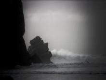 Morro Rock Storm Waves-3