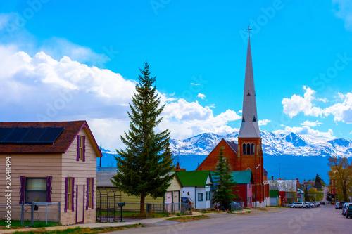 Obraz Leadville Colorado Victorian Church - fototapety do salonu
