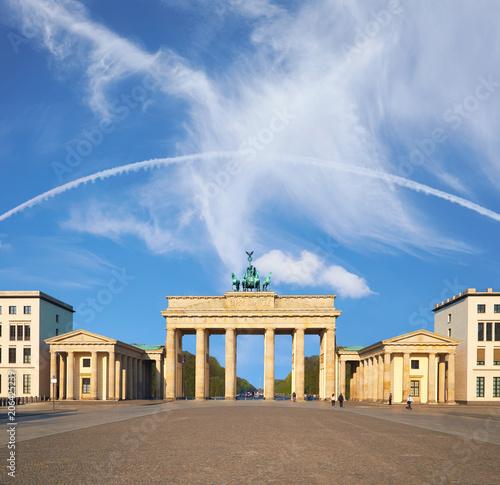 Zdjęcie XXL Brama Brandenburska w Berlinie, Niemcy, miejsca na tekst