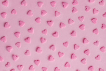 Pattern. Pink Confectionery He...