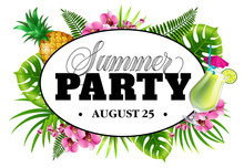 Summer Party August Twenty Fiv...