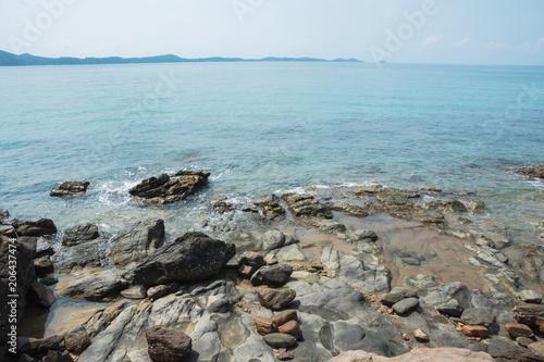 Spoed Foto op Canvas Noordzee Sea of Khao Laemya National Park