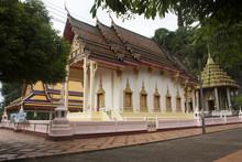 Wat Tham Khuha Sawan In Phatthalung, Thailand.