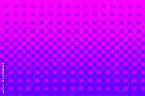 Pixel pattern background in pink, purple color Canvas Print