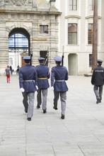 Changing The Guard At Prague C...