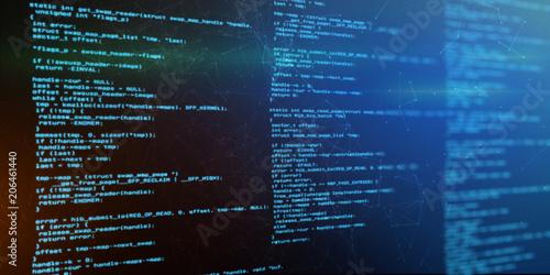Fotografía  Technologie Hintergrund Software Programmiercode