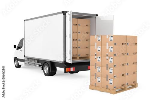 Fotografía Prepare Shipping Concept
