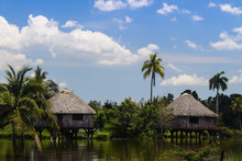 Thatched Cottages In Cuba