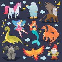 Mythological Animal Vector Myt...