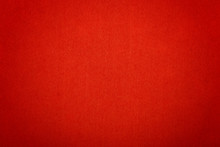 Scarlet Red Felt Background Texture Close Up