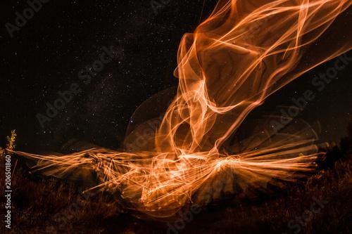 Photo  Night freeze light
