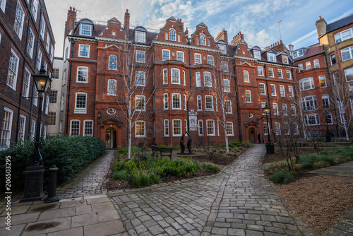 Photo Hare Court of Inner Temple, London