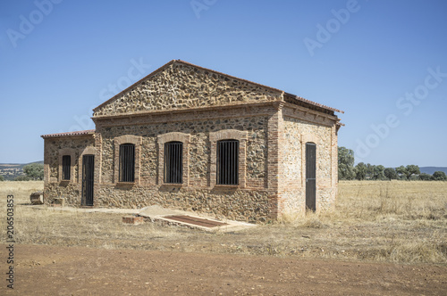 Fotografie, Obraz  Saceruela Historic Airfield, used by Republican aviation in Spanish Civil War 19