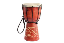 Jembe African Drum. Traditiona...