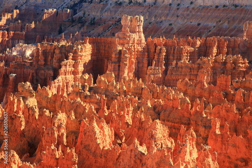 Fotobehang Rood traf. Bryce Canyon 6